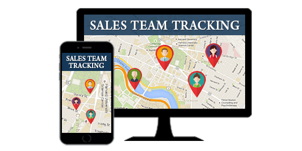 sales team tracking on mobile